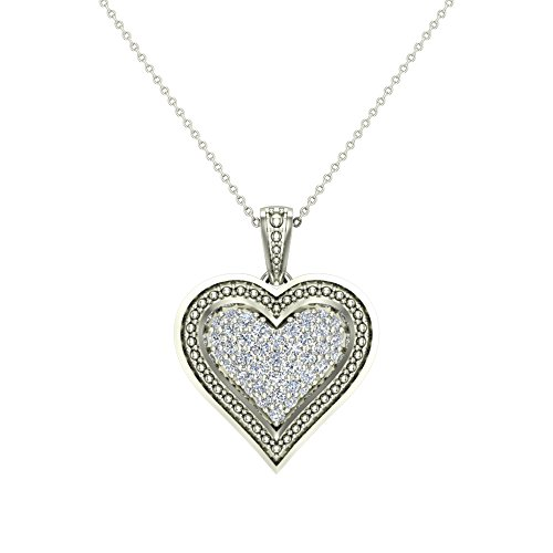 0.56 Ct Heart - 4