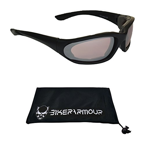 Small Motorcycle Sunglasses Foam Padded for Women, Boys and Girls - Ro Sunglasses