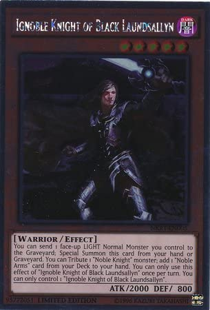 Yugioh Noble Knight Medraut NKRT-EN006 Platinum Rare