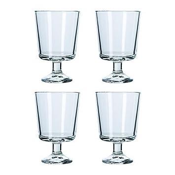 Ikea Weingläser ikea barsk weinglas klarglas 4 pack 21 cl amazon de küche