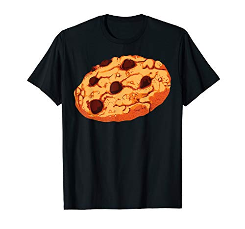 Chocolate Chip Cookie T-Shirt Giant Cookie Halloween Costume ()