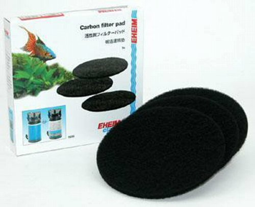 EHEIM Carbon Filter Pad for Classic External Filter 2213 (3 Pieces)