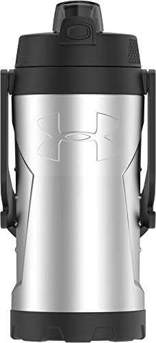 - Under Armour MVP 2 Liter Stainless Steel Water Bottle, Stainless