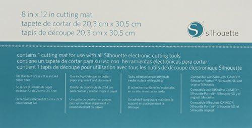 Silhouette, Manta de Arrastre Portraint. 20,3 x 30,4 cm: Amazon.es: Hogar