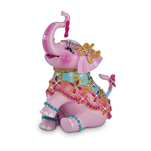 - Breast Cancer Support Elephant Figurine: A March of Compassion by The Hamilton Collection