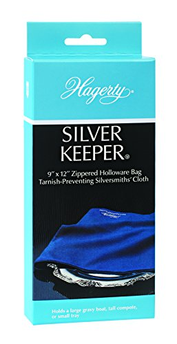 HAGERTY SILVER KEEPER 9 X 12 Sterling Storage Bag / Holder PREVENTS TARNISH!