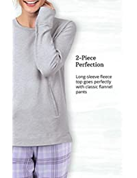 Addison Meadow - Pijama de franela para mujer