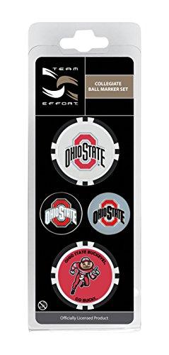 Team Effort Ohio State Buckeyes Ball Marker Set