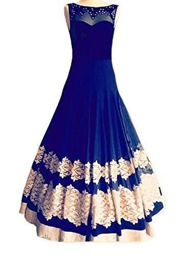 e915a16844f7 Royal Export Women s A-Line Knee-Long Dress (r Blue Gown Blue Free ...