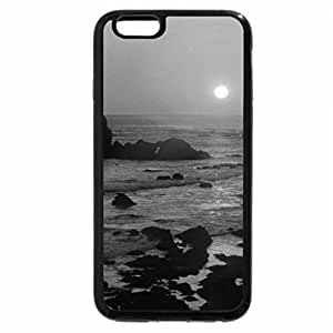 iPhone 6S Case, iPhone 6 Case (Black & White) - At the Point