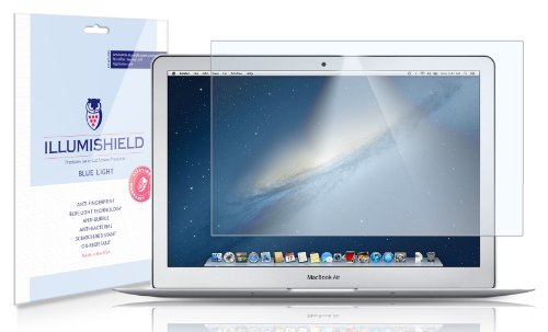 iLLumiShield–Apple-MacBook-Air-11-2010-2012-HD-Blue-Light-UV-Filter-Screen-Protector-Premium-High-Definition-Clear-Film-Reduces-Eye-Fatigue-and-Eye-Strain–Anti-Fingerprint-Anti-Bubble-Anti-Bacterial