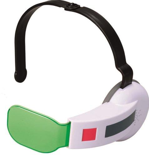 Dragon Ball Z Super Saiyan Scouter w/ Green Lens