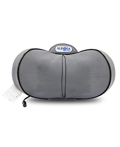 Aurora Health & Beauty 3D Kneading Massager Pillow with Heat, 3.2 Pound from Aurora Health & Beauty