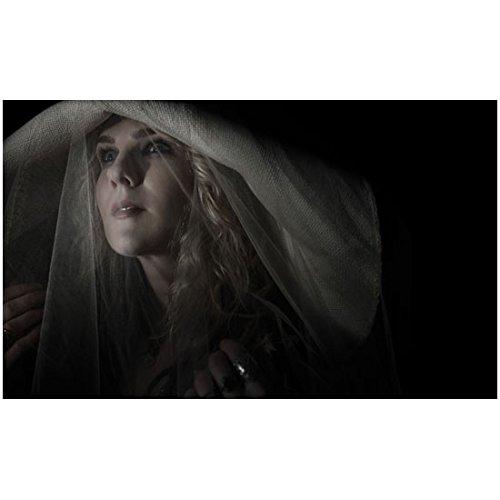 American Horror Story 8x10 Photo Lily Rabe White Veil - Rabens White