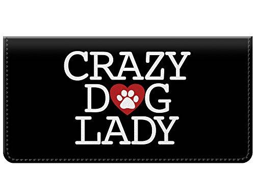 (Crazy Dog Lady Snaptotes Checkbook Cover)