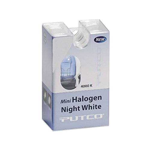 (Putco 213157L Mini-Halogen Bulb - Night White - 3157 (Pair))
