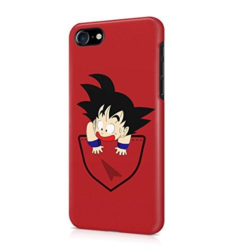 Dragon Ball Z Child goku pocket Hard Plastic Snap-On Case Cover For iPhone 7 (Goku Children)