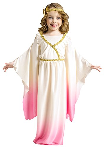 [Kids-Costume Athena Pink Ombre Toddler Costume 3-4T Halloween Costume] (Athena Pink Girls Costume)