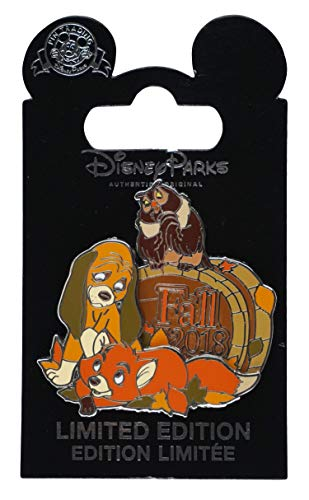 WDW Trading Pin - Fall 2018 - Fox and the Hound - Tod and Copper