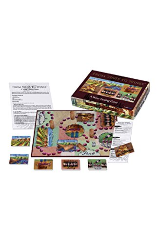 Barbuzzo Vines to Wines Board Game