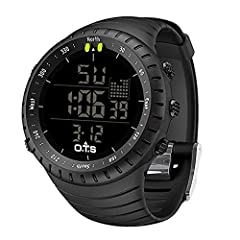 What you can do with T7005G digital watch? Alarm clock : Set a alarm as you want and it will ring on time. Help you to control your time. Stop-watch : The display range of the chronograph is 23 hours, 59 minutes, 59.99 seconds. Sometimes you ...