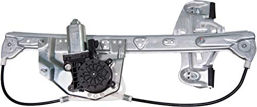 (APDTY 852694 Power Window Motor & Regulator Assembly Rear Left (Driver-Side) Fits 2000-2005 Cadillac Deville (Replaces 10393234, 19244838) )