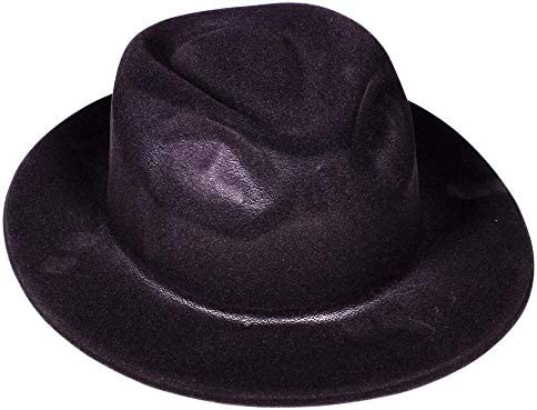 SANOMY Unisex Classical Fedora Hat Fashion Gentle Elegant Jazz Trilby Gangster Cap