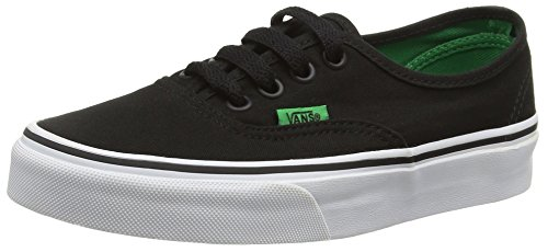 Da Adulto black Basse Green Vans Unisex Ginnastica Pop Scarpe sport Authentic Noir kelly xCqwaT