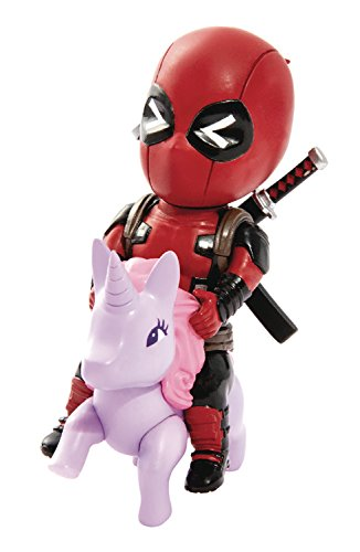 Beast Kingdom Marvel Comics Mea-004 Deadpool Pony Mini Egg Attack Action Figure