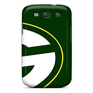 High-end Case Cover Protector For Galaxy S3(green Bay Packers)