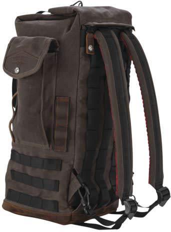 Burly Brand Brn Sissy Bar Backpack Dark Oak B15-1013D New ()