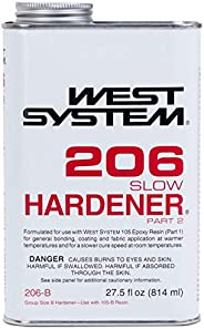 West System 206-B Slow Hardener