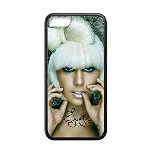 Lady Gaga Jo Calderone Mother Monster Pocker Face Bad Romance Do What U Want APTPOP Hard Case Cover Skin for iPhone 5C(Laser Technology) Designed TPU By Josephine2855 Type5