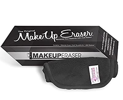 Makeup Eraser The Original Facial Exfoliator, Black, 4 oz.