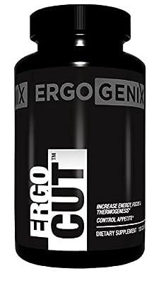 ErgoGenix Thermogenic Fat Burner Weight Loss Energy Booster Appetite Control Supplement Pills ErgoCut