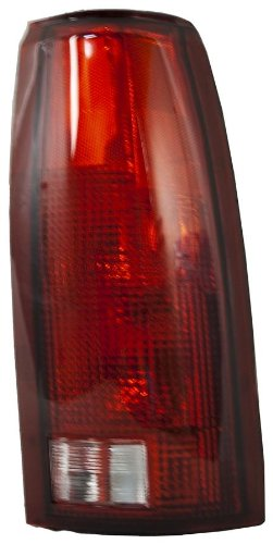 Partslink Number GM2809108 Unknown OE Replacement Chevrolet//GMC Passenger Side Taillight Lens