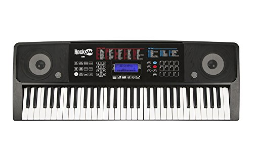 RockJam RJ761-SK Key Electronic Interactive Teaching Piano Keyboard with Stand, Stool, Sustain pedal & Headphones - Image 5