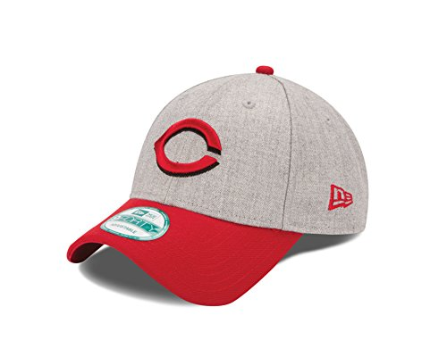 fan products of MLB Cincinnati Reds The League Heather 9Forty Adjustable Cap, One Size, Heather