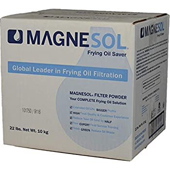 Dallas Group | 1 x 22 lb Box Magnesol XL Fryer Filter Powder | Item 700162 | Deep Fryer FryPowder | Save Fryer Oil, Extend Oil Life, Fry Oil Cleaner, ...