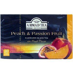 Ahmad Herbal Tea Bags, 20 Bags( Pack of 2) (Peach & (Ahmad Peach)