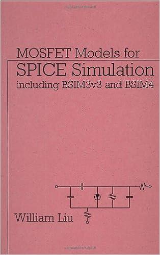Amazon com: MOSFET Models for SPICE Simulation: Including BSIM3v3