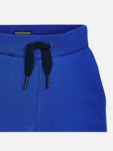 Royal Blue Mayoral Basic Fleece Shorts for Boys 0600