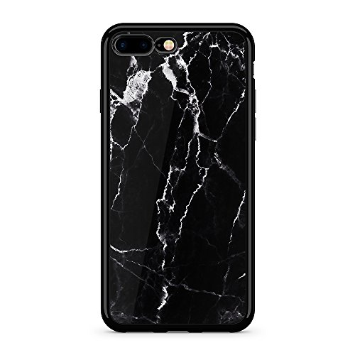 - Obbii Case for iPhone 7 Plus /8 Plus Case(5.5 inch) Black Marble Design Shockproof Slim TPU Flexible Soft Silicone Protective Durable Cover Case Compatible with iPhone 8 Plus/7 Plus