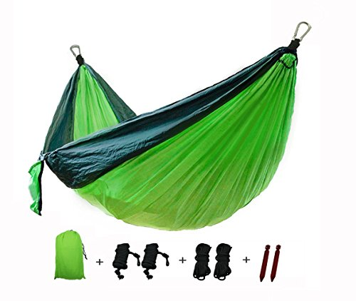Cheap  Double Camping Hammock - Soft Durable Nylon Material with Maxmum 1000 lbs..
