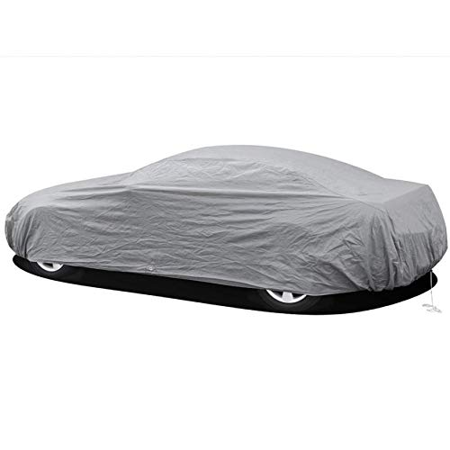 DeemoShop Waterproof Full Car Cover Sun UV Snow Dust Rain Resistant Protection Car Winter Snow Cover for Peugeot New ()