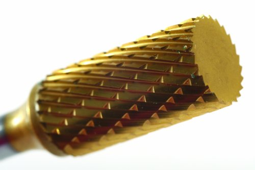- Champion Cutting Tool SA1L Double Cut TiN Coated Carbide Bur