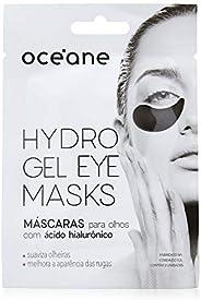 Máscara Hidrogel para Olhos, Hydrogel Eye Masks, Hialurônico, Océane, Océane, Preto