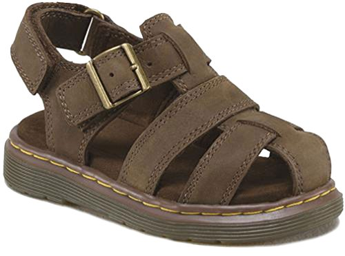Dr. Martens Baby Boy's Moby Brown Sandals 4 M UK, 5 M