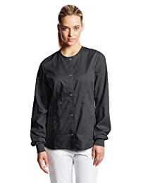 Cherokee Women's Luxe Snap Front Warm-Up Jacket