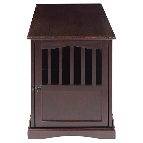 Casual Home 600-24 Pet Crate, Espresso, 27 Inch by Casual Home